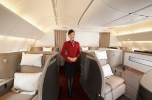 Cathay Pacific unveils rejuvenated First Class product