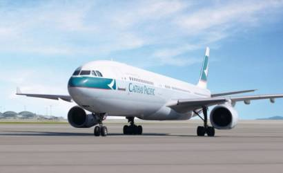 Passenger numbers up at Cathay Pacific
