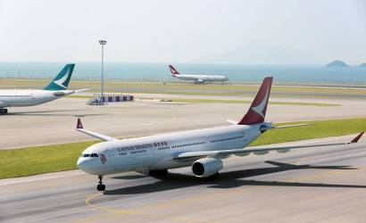 Cathay Dragon takes to the skies for first time