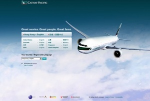 Cathay Pacific to upgrade online presence