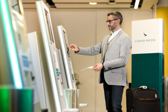 Cathay Pacific launches self-check in at London Gatwick