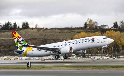 Cayman Airways takes delivery of first 737 MAX 8
