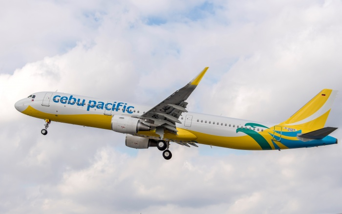 Cebu Pacific welcomes first Airbus A321 to fleet