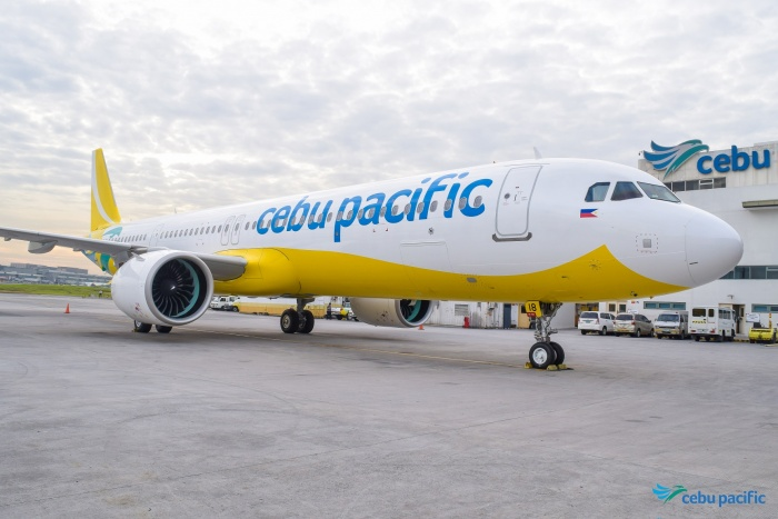 Cebu Pacific welcomes first Airbus A321neo to fleet
