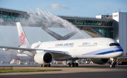 China Airlines takes off from Gatwick for first time