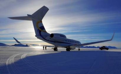 Deer Jet touches down in Antarctica for new charter service