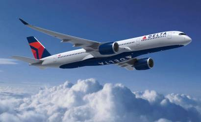 Delta Air Lines takes Airbus A350 to Amsterdam