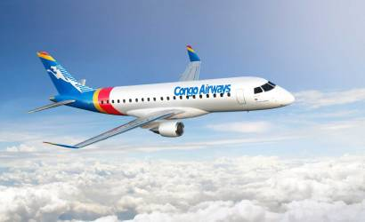 Congo Airways places new E175 order with Embraer