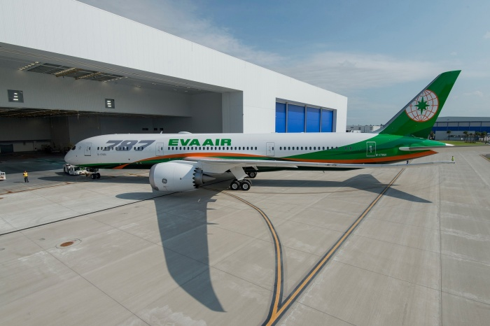 Eva Air welcomes delivery of first Boeing Dreamliner