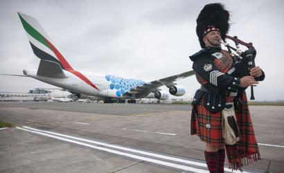 Emirates launches daily A380 service to Glasgow, Scotland