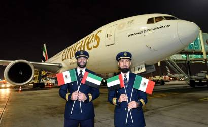 Emirates launches Mexico City service, via Barcelona