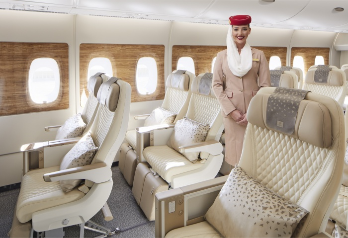 Emirates to introduce premium economy cabin on Airbus A380