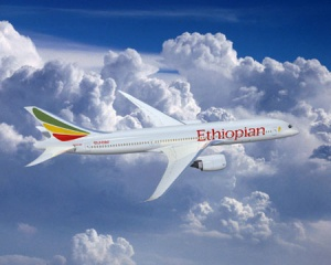 Boeing celebrates delivery of Ethiopian Airlines' first 787-8