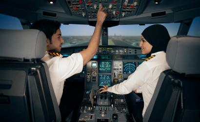 Etihad Airways trains next generation of pilots in Abu Dhabi