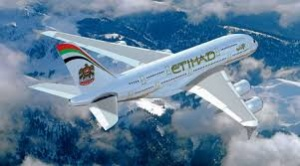 Etihad celebrates inaugural A380 flight