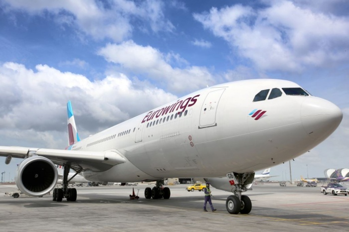 Eurowings welcomes harvest workers to Germany