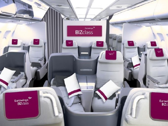 Eurowings to roll out new business class product in spring 2018
