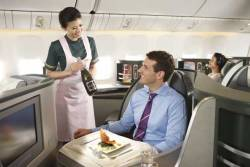 EVA Air upgrades business class cabin on London flights