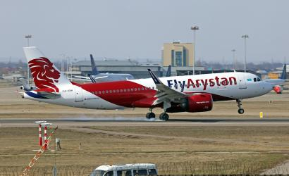 FlyArystan grows fleet with new Airbus delivery