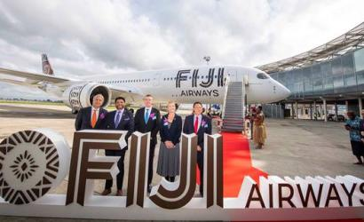 Fiji Airways welcomes first A350 XWB to South Pacific