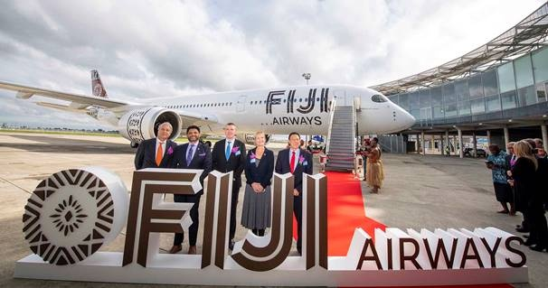 News: Fiji Airways welcomes first A350 XWB to South Pacific