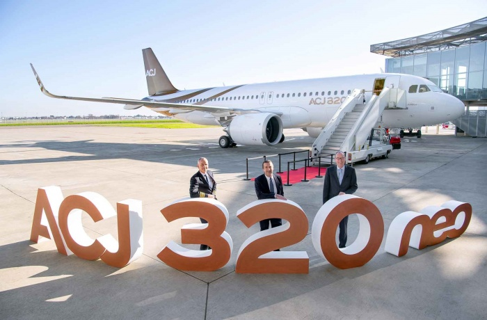 Acropolis Aviation welcomes first ACJ320neo to fleet