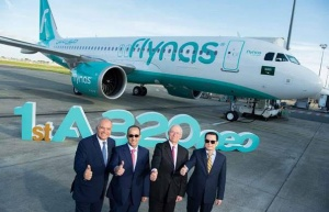 Flynas welcomes first A320neo to fleet in Saudi Arabia