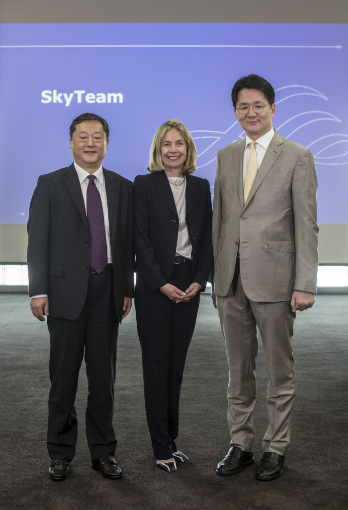 Korean Air chief executive appointed to SkyTeam leadership