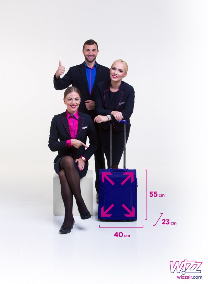Wizz Air introduces new hand luggage policy