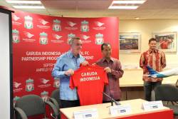 Garuda Indonesia links with Liverpool FC