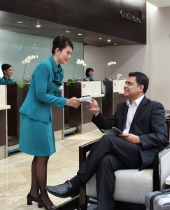 Garuda Indonesia opens premium check in