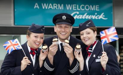 Gatwick Airport marks the Queen's Diamond Jubilee