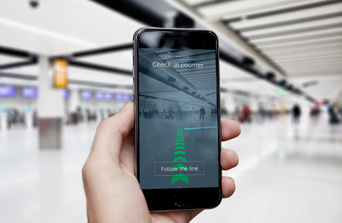 Gatwick Airport installs indoor navigation system
