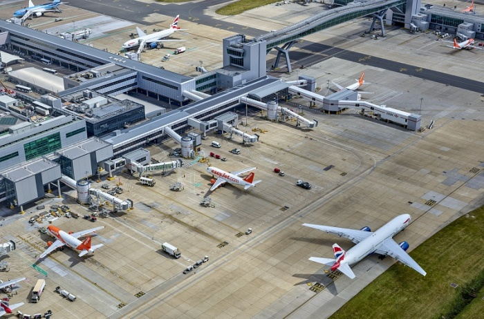 Gatwick Airport adds half a million passengers in April 2017