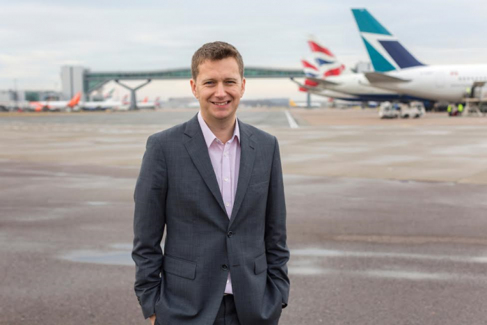 King takes up leadership role at Gatwick Airport