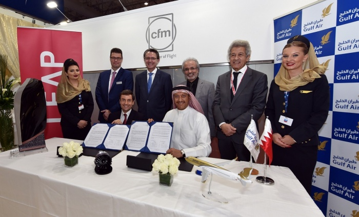 Dubai Airshow 2017: CFM International signs $1.9bn LEAP engine deal with Gulf Air