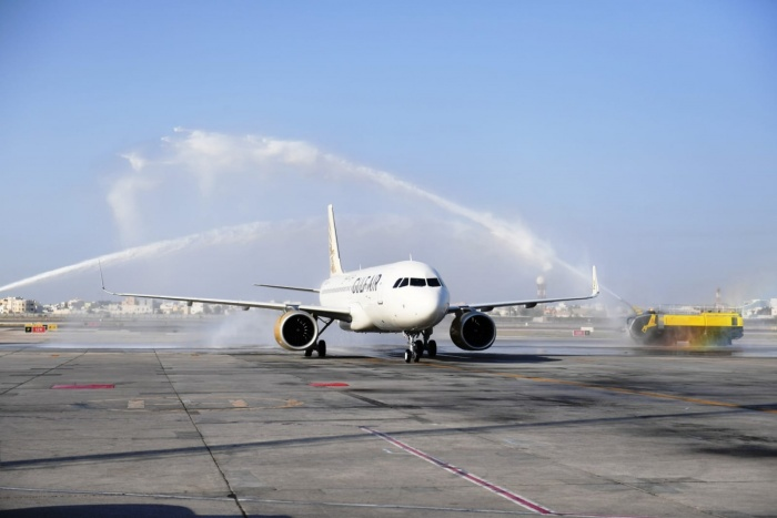 Gulf Air receives first A320neo from Airbus