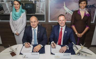 Etihad Airways signs partnership with Gulf Air