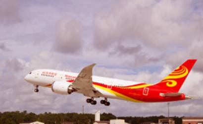 Hainan Airlines links Boston to mainland China for first time