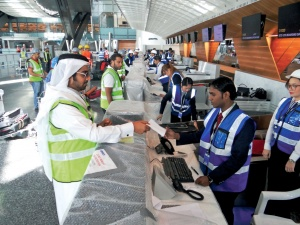 Final testing underway at Hamad International Airport in Qatar