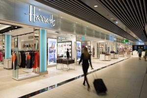 Gatwick welcomes Harrods department store