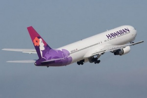 Hawaiian Airlines takes off for New Zealand