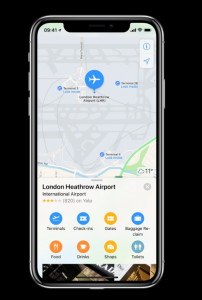 Heathrow brings terminals to Apple Maps