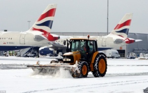 Heathrow explores geothermal heating to prevent runways freezing
