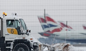 Snow causes disruption for UK passengers