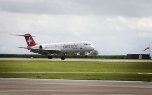 Helvetic Airways links Zurich and Cardiff