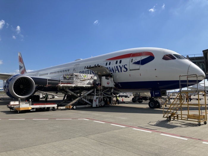 IAG Cargo returns to Incheon in South Korea