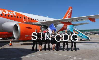 easyJet takes off for Paris Charles de Gaulle from Stansted