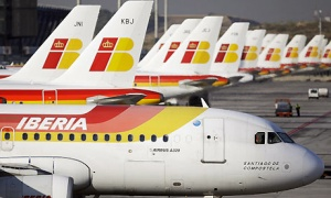Iberia strike begins in protest at layoffs