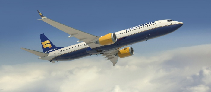 First Boeing 737 MAX lands at Icelandair